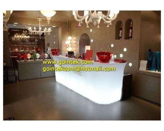 Illuminated Glowing Led Bar Table -