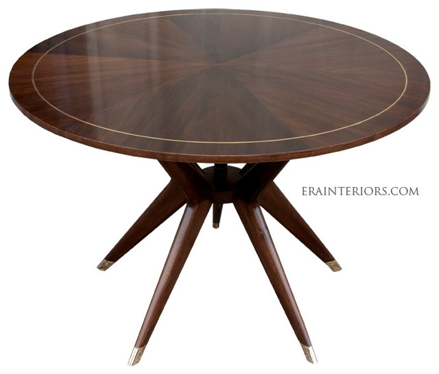Mid Century Round Dining Table Modern Dining Tables New York