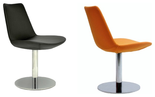 Eiffel Round Swivel Chair By SohoConcept Contemporary Dining Chairs Ora