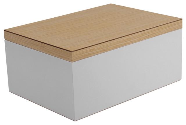 Vaxholm Large Jewelry Box White Modern Jewelry Boxes
