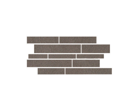 Land Collection Sephia Brown Design 4 Mosaic - Like the adaptation of land over time, this exemplary collection offers four soft hues of brown.