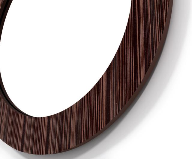 Ebony Fiji Wall Mirror contemporary-mirrors