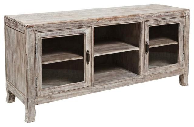 Classic Home Furniture - Aria Open Shelf Plasma TV Stand - 52001538 - Traditional ...