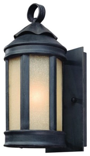 Anderson's Forge Outdoor Wall-Mount Lantern - modern - outdoor ...