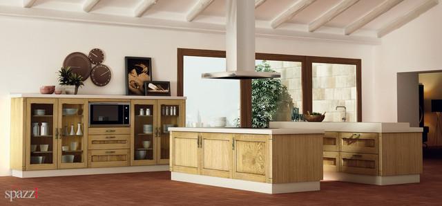 SpazziUSA contemporary-kitchen-cabinets