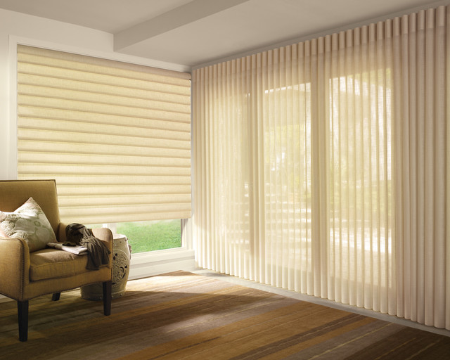 Hunter Douglas Vignette 174 Roman Shades Amp Luminette 174 Privacy