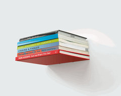Conceal Book Shelf modern-display-and-wall-shelves