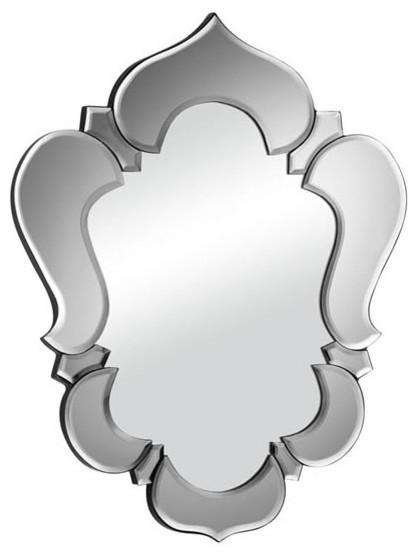 Vishnu Mirror Gray contemporary-wall-mirrors