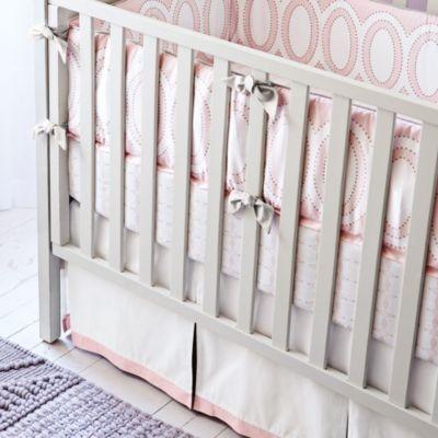 Colette Three-Piece Crib Set traditional-sheets