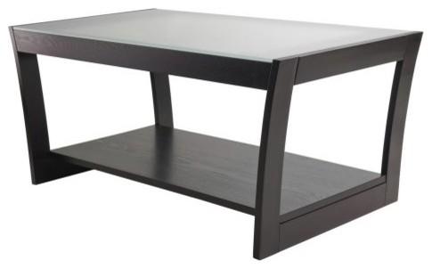 Winsome Radius Coffee Table modern-coffee-tables