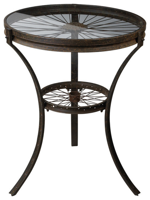 Sterling Industries 129-1011 Industrial Style Side Table contemporary-side-tables-and-accent-tables