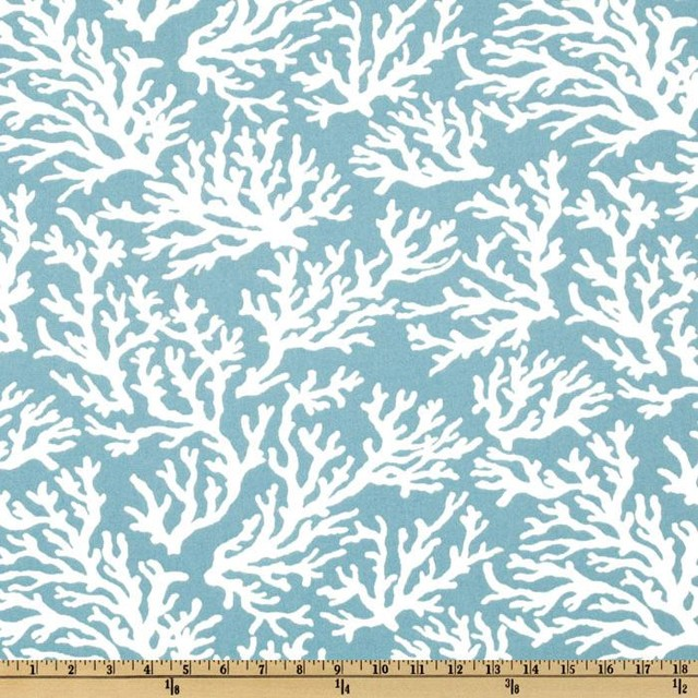 Swavelle/Mill Creek Indoor/Outdoor Faylinn Teal Fabric  upholstery fabric