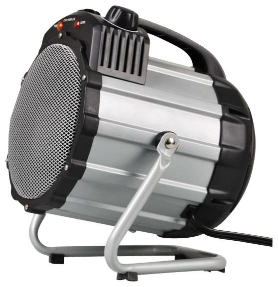 Optimus H7100 Heater Fan Portable Utility Thermostat modern-heating-and-cooling