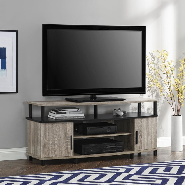 altra dexter 50 inch tv stand contemporary entertainment centers and tv stands by. Black Bedroom Furniture Sets. Home Design Ideas