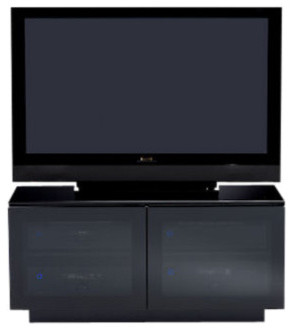 Mirage Media Stand contemporary-entertainment-centers-and-tv-stands