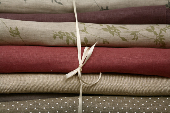 Natural Linen Fabric For Curtains and Upholstery modern fabric