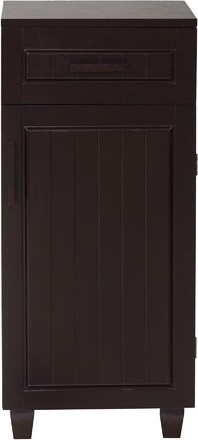 Harrison Floor Cabinet with One Door and One Drawer traditional-bathroom-storage