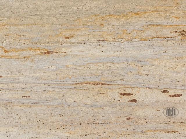 Colonial Cream Granite - kitchen countertops - orange county - by