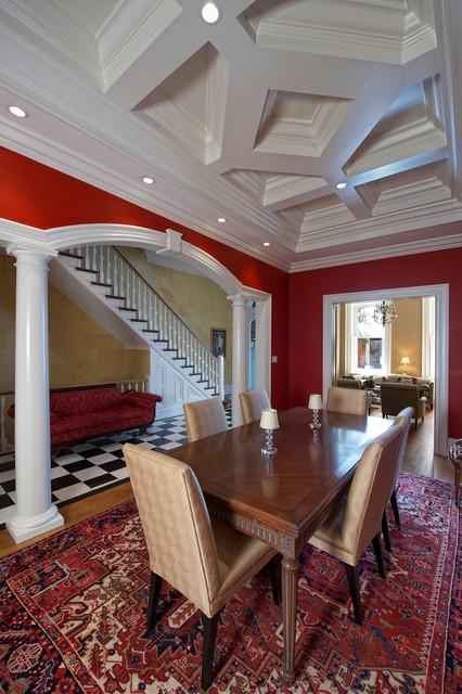 Delancy Street traditional-dining-room