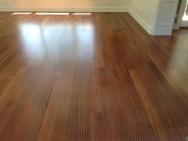 Sapele Hardwood Flooring - Traditional - Hardwood Flooring - chicago - by Brenco Exotic Woods