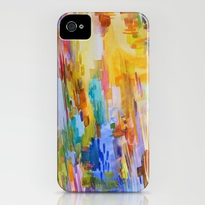January iPhone Case by Jenny Vorwaller eclectic-home-decor