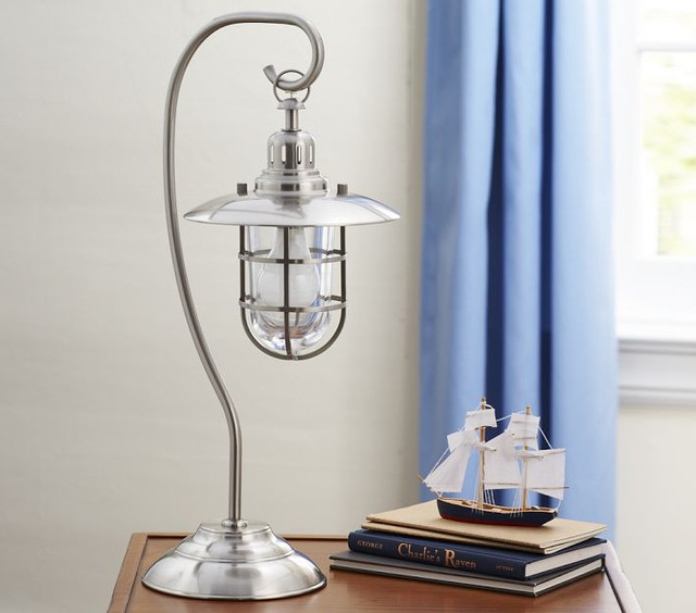 fisherman table lamp modern table lamps by pottery barn kids. Black Bedroom Furniture Sets. Home Design Ideas