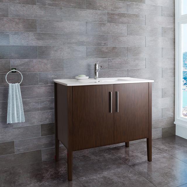 36 inch maxine single bathroom vanity contemporary bathroom vanities
