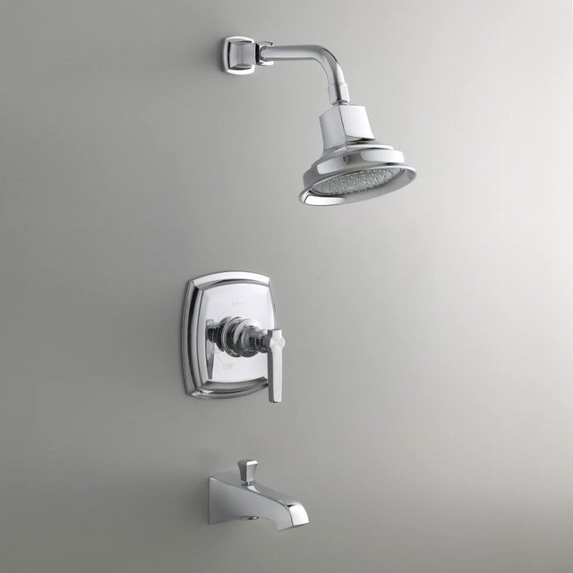 Faucet Single Handle Shower Faucet - Contemporary - Bathroom Faucets ...