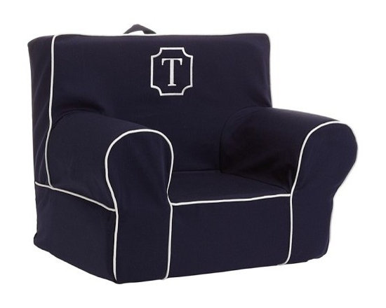 Navy Harper My First Anywhere Chair -