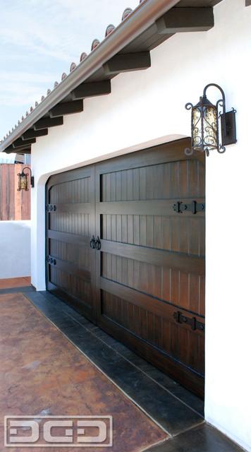 San Clemente Ca Custom Spanish Colonial Garage Door With