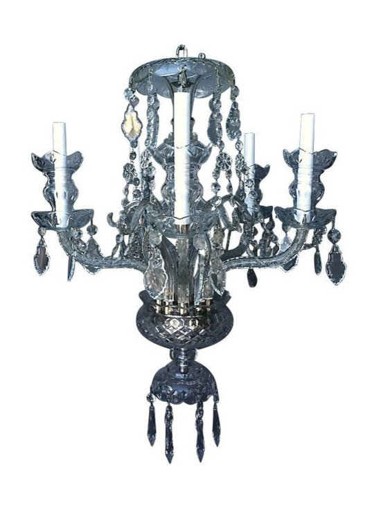 The Perfect Crystal Chandelier - $2,400 Est. Retail - $425 on Chairish.com -