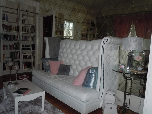 Paris chic living room eclectic living room atlanta for Eclectic chic living room