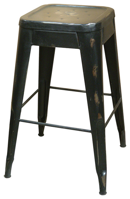 Industrial Bistro Counterstool traditional-bar-stools-and-counter-stools