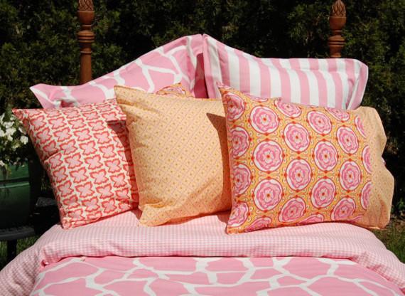 Girls Bedding Pillow Shams Duvet Cover by Gatehouse Lane contemporary-kids-bedding