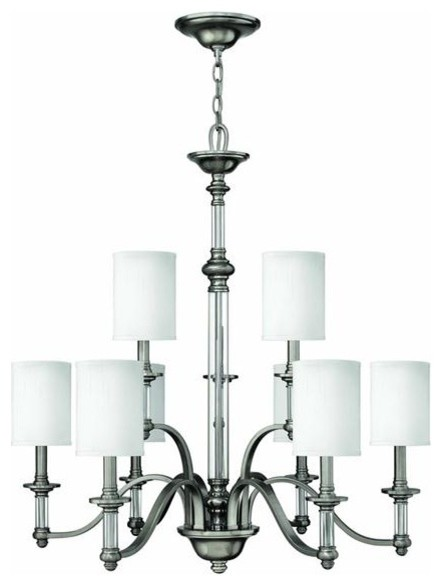 Hinkley Lighting 4798BN Mini-Pendant Mini-Pendant Sussex Collection traditional-chandeliers