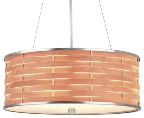 Basquet Drum Pendant contemporary-pendant-lighting