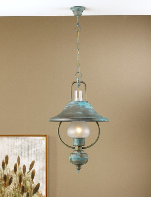 Rustic Pendant Pendant Lighting By Fredeco Lighting