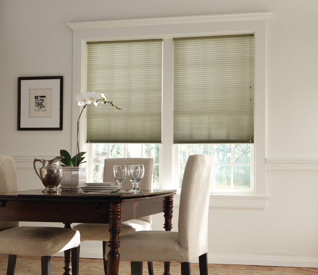 """Bali® DiamondCell® 3/8"""" Double Cell Cellular Shades: Solitaire II: Fern modern-cellular-shades"""