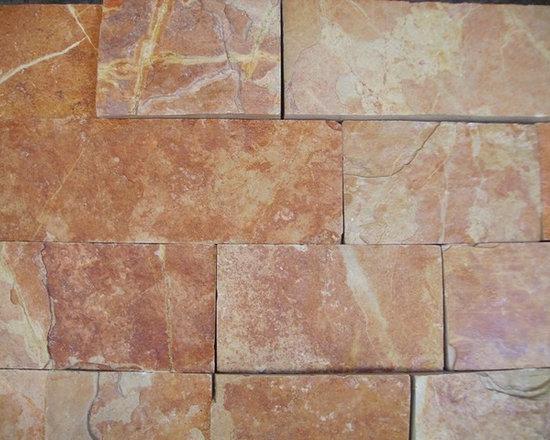 Amber Natural Stone Thin Veneer and Ledgstone -