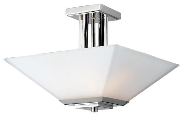 Z Lite 602SF 3 Light Semi Flush Mount Contemporary Ceiling Lighting By