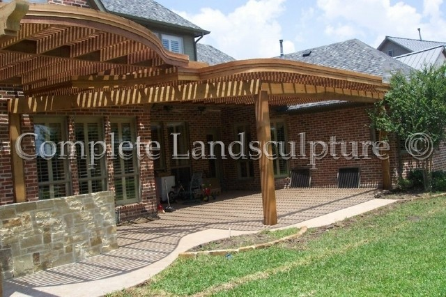 Arbors & Pavilions by Complete Landsculpture traditional-exterior