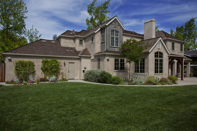Menlo Park French Normandy traditional