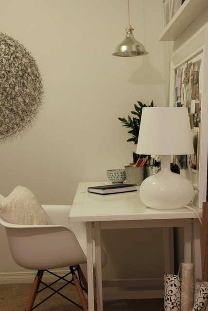 rental condo home office and guest room modern-home-office