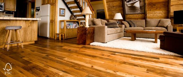 More Reclaimed Oak traditional-family-room