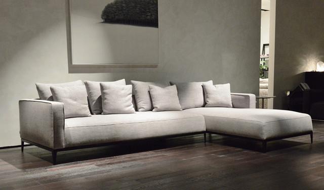 California Sectional Sofa - contemporary - sectional sofas