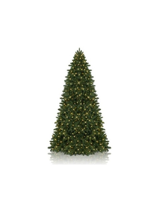 Balsam Hill Stratton Valley Spruce Instant Evergreen™ Artificial Christmas Tree - THE UNRIVALED SOPHISTICATION OF BALSAM HILL'S STRATTON VALLEY SPRUCE INSTANT EVERGREEN™ |