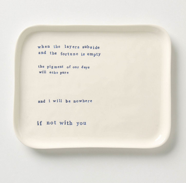 Musings Tray contemporary serveware