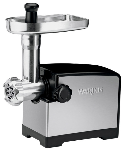Waring Pro Heavy-Duty 300-Watt Stainless Steel Meat Grinder contemporary-specialty-small-kitchen-appliances