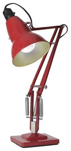 Type 1227 Desk Lamp - Red modern-desk-lamps