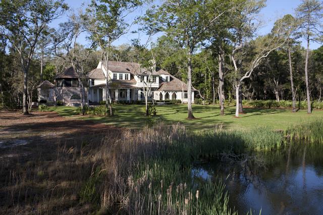 Hatton Lane Residence - Frederica - Saint Simons Island, GA traditional-exterior
